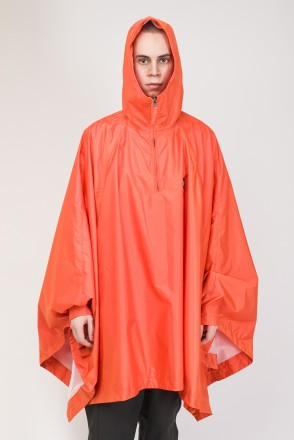 Punch Poncho Orange