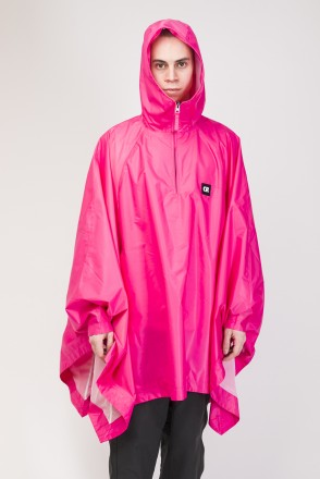 Punch Poncho Pink