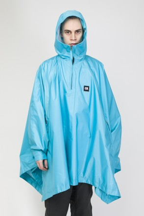 Punch Poncho Turquoise