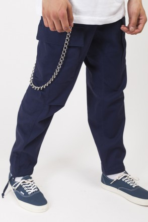Cargo Wide Trousers Ink Blue