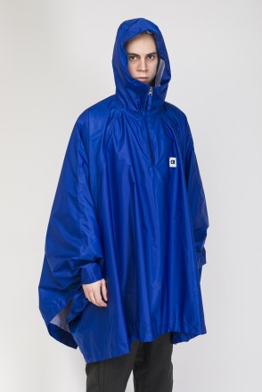 Punch Poncho Cornflower Blue