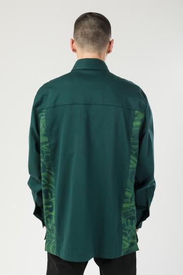 Рубашка Heavy Shirt Морской Зеленый