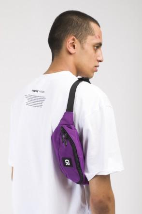Сумка поясная Hip Bag Фиолетовый Таслан CR