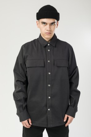 Рубашка Heavy Shirt Серый Темный