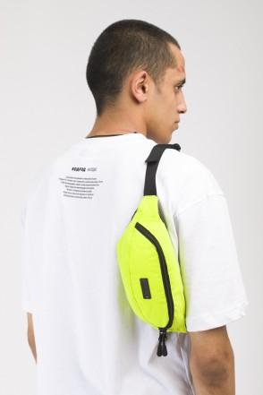 Сумка поясная Hip Bag Светоотражающий Флюр Лимон