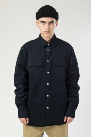 Рубашка Heavy Shirt Синий Чернильный