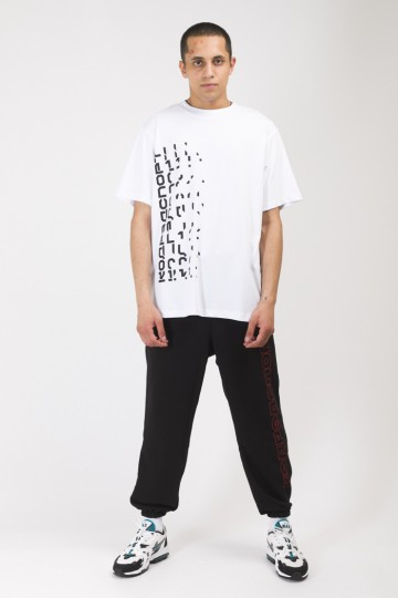 T-Shirt Disappear Front Back White