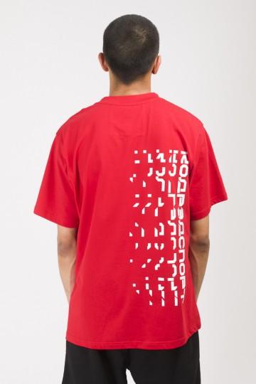 Футболка T-Shirt Disappear Front Back Красный