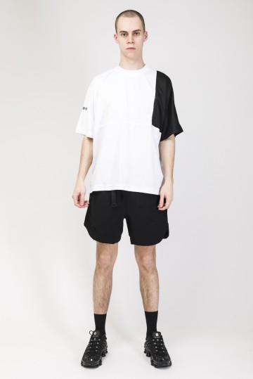 Stage PE COR T-shirt White/Black