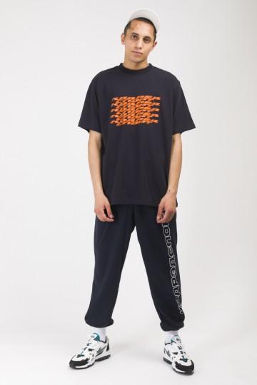 Футболка T-Shirt Dynamic Lines Синий Чернильный