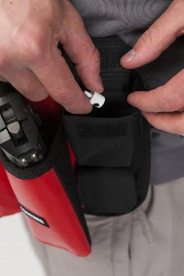 Сумка поясная для баллонов Cans Bag Красная Теза/Белый принт CODERED