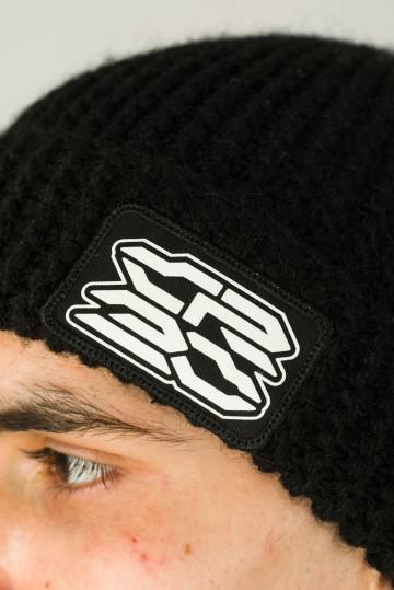 Corn Beanie Hat Black