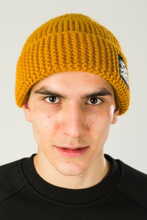 Corn Beanie Hat Mustard