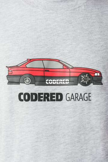Футболка CODERED Regular CR Garage HeyTomsa E36