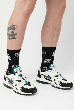 Symbols Long Sock Socks Black