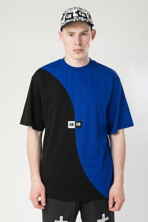 Two Phase T-shirt Cornflower Blue