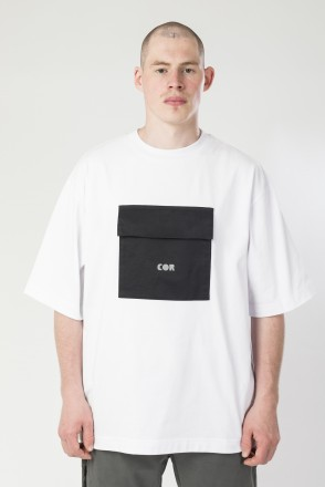 Chestpl-T COR T-shirt White