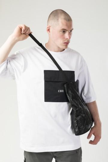 Сумка-авоська Capsule COR Черный/Светоотражающий Серый