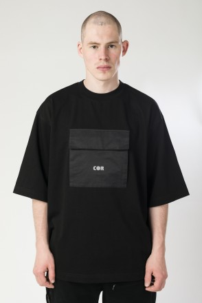 Chestpl-T COR T-shirt Black