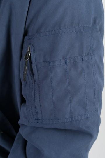 Куртка Bomber Синий Темный