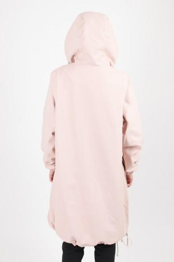 Анорак Mob Long Розовый Светлый Микрофибра