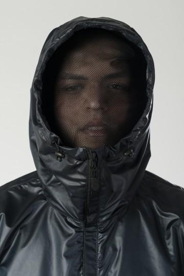 Анорак-Дождевик Write 3 Черный Теплый