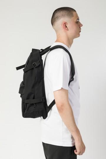 Рюкзак Action Черный Таслан/Белый Принт CR