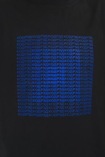 Regular Center Up Cyrillic T-shirt Black