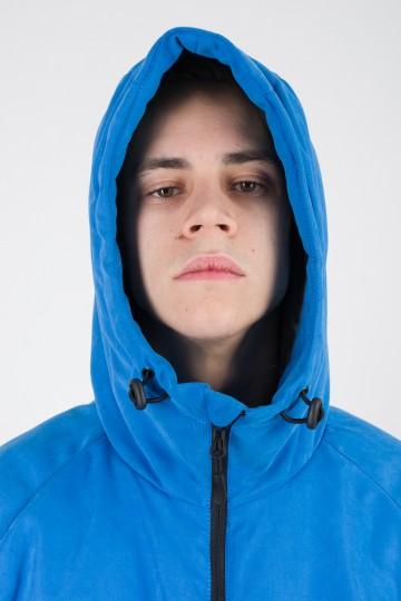Nib 2 Jacket Bright Blue Microfiber