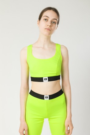 Uppers Lady Top Neon Lime