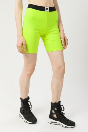 Unders Lady Shorts Neon Lime