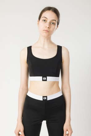 Uppers Lady Top Black