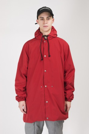 4 Coat Raincoat Red