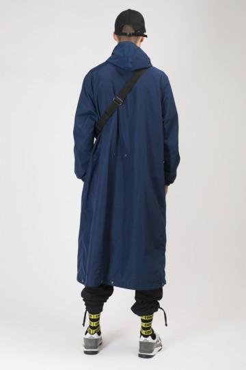 Плащ 4coat Синий Темный