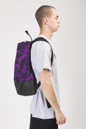 Рюкзак Standart Фиолетовый Камуфляж/Черный Кожзам