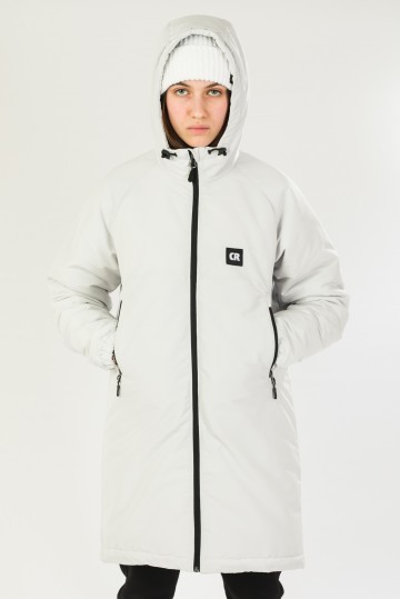 Куртка зимняя Nib Lady 2 Пепельный Светлый