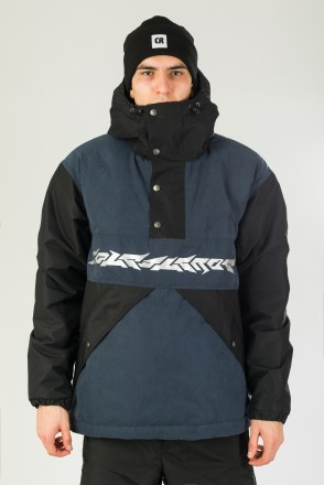 Superblaster 2001 Anorak Black/Dark Blue