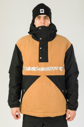 Superblaster 2001 Anorak Black/Sandy