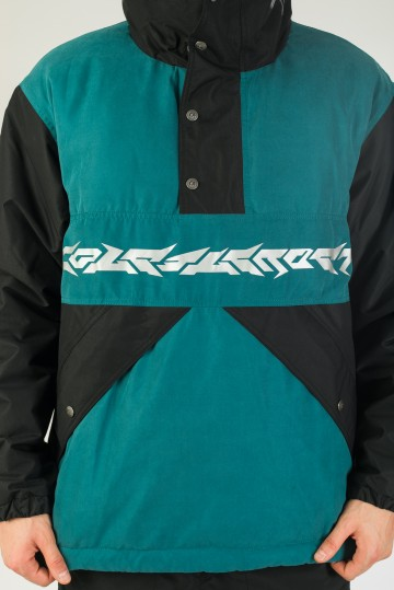 Анорак Superblaster 2001 Черный/Зеленый Морской