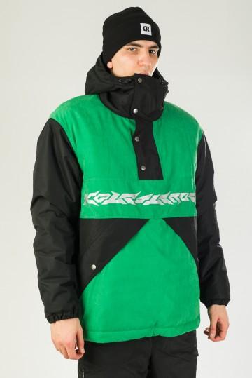 Анорак Superblaster 2001 Черный/Зеленый Яркий