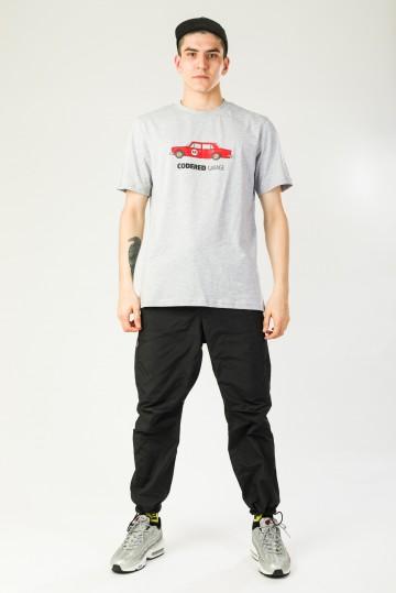 Футболка Regular CR Garage Серый меланж