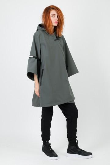 Куртка-кимоно AMGP-001 COR Серый Темный