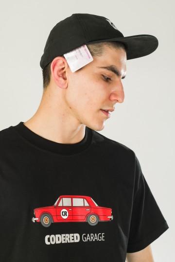 Футболка Regular CR Garage Черный