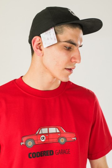 Футболка Regular CR Garage Красный