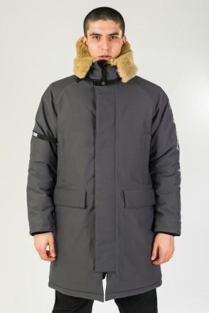 CR-A 5 NFC COR Jacket Dark Gray