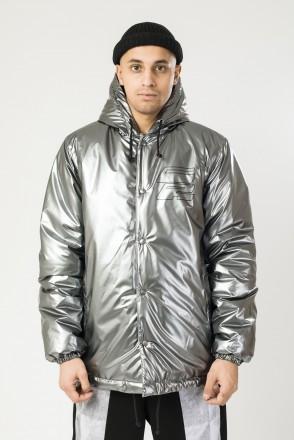 Куртка зимняя Winter Coach Серый Рипстоп