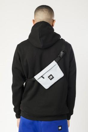 Мини-сумка поясная Pocket Mid Серый Светлый