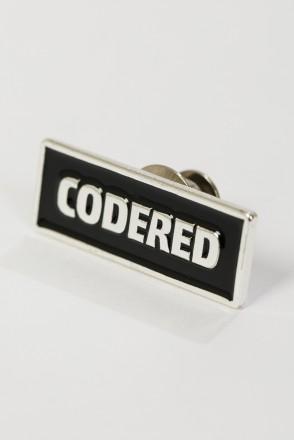 Pin CODERED Black