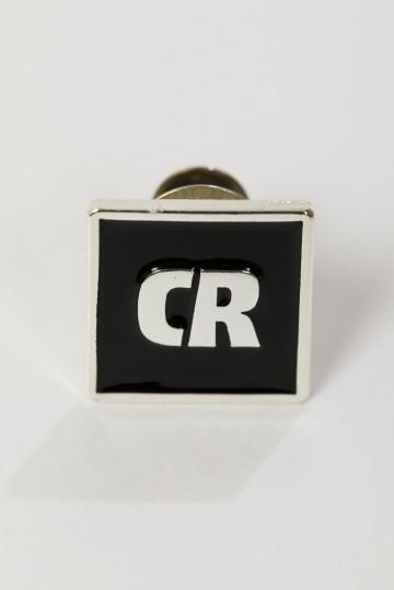 Значок Pin CR Черный