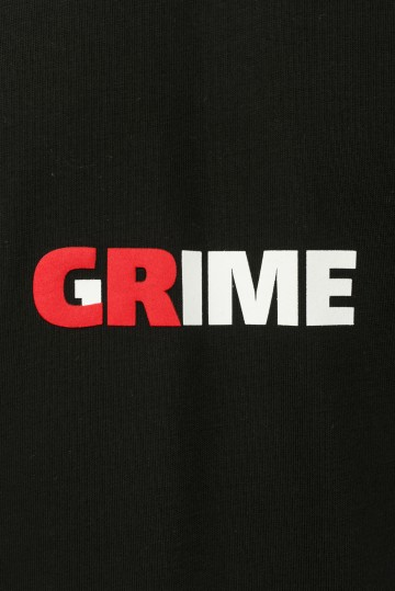 Футболка T+ Crime Grime Черный